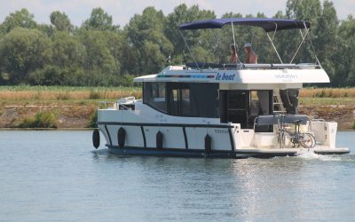 Location de bateau sans permis à Saint-Jean-de-Losne