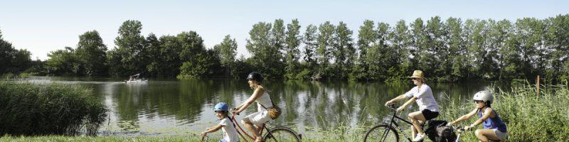 Voie Bleue en Rives de Saône à Saint-Jean-de-Losne