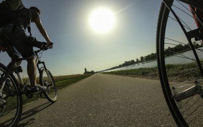 Voie bleue Moselle Saône® à vélo à Saint-Jean-de-Losne