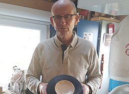 Daniel Gaudin, tourneur sur bois présent à l'Artisanerie de la Saône à Seurre