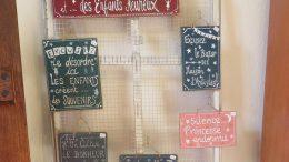 Les créations des mots mélés sont présents à l'Artisanerie de la Saône à Seurre