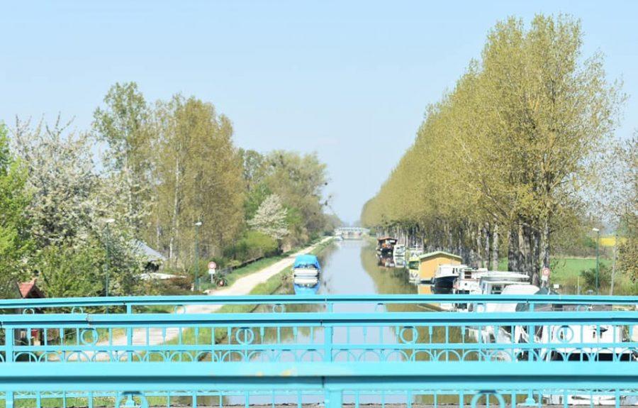 Canal de Bourgogne à Saint-Jean-de-Losne