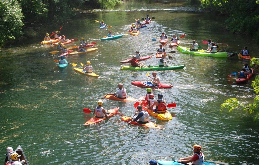 Location de canoë Kayak au camping de la plage à Seurre