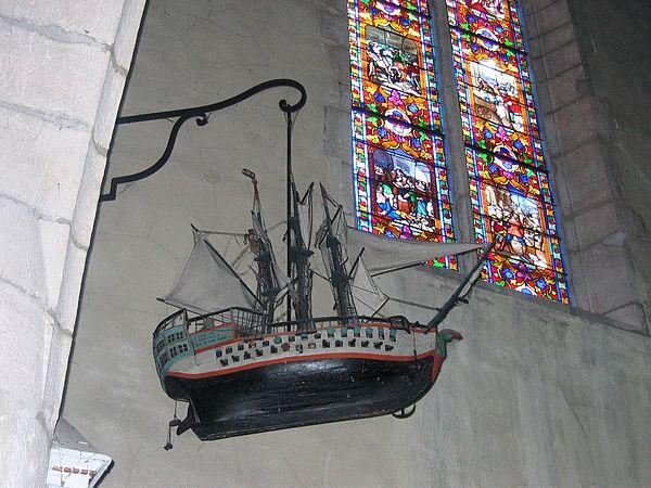 Eglise Saint Jean-Baptiste à Saint-Jean-de-Losne