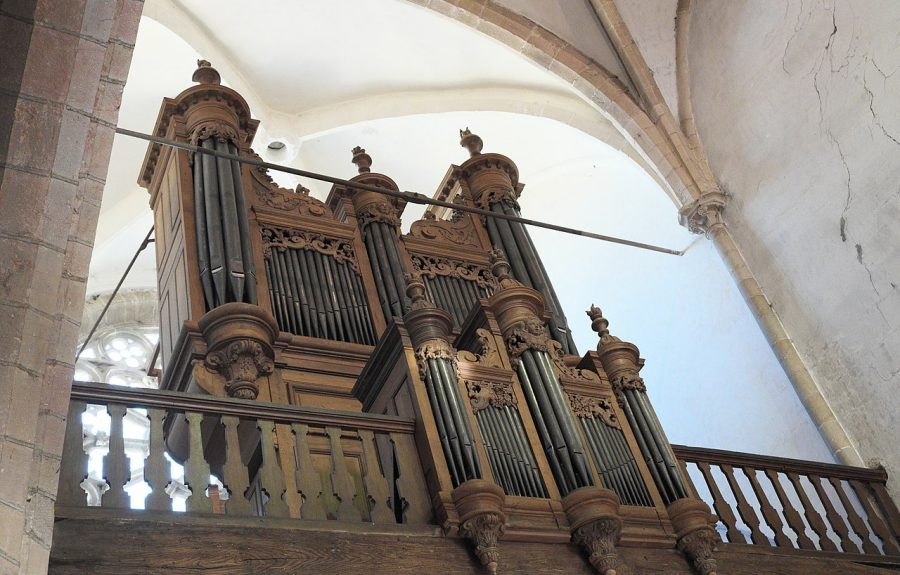 Orgue Julien Tribuot, église Saint-Martin à Seurre