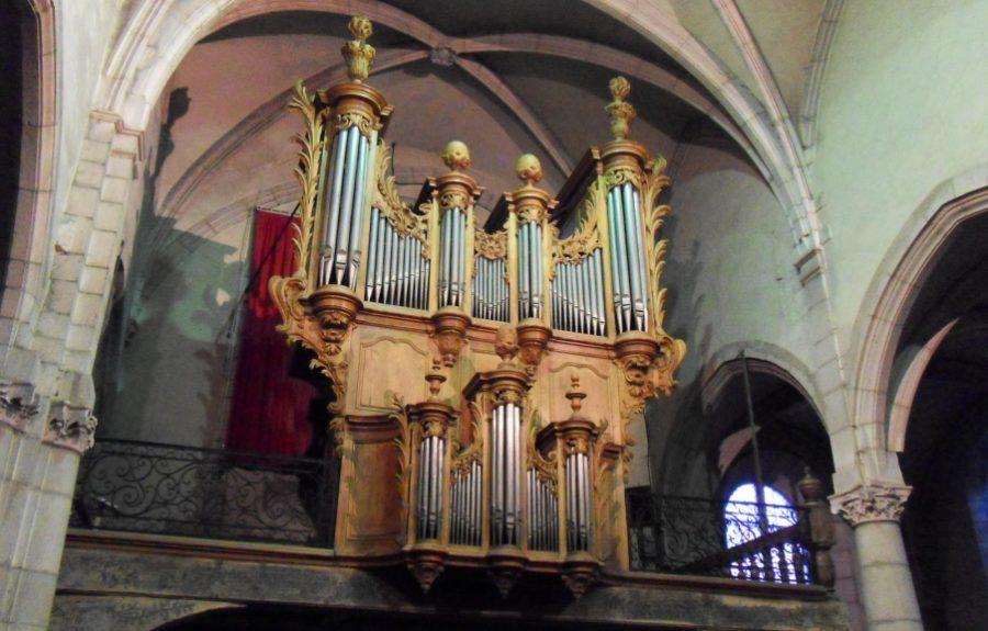 Orgue de 1768, Eglise Saint-Jean-Baptiste à Saint-Jean-de-Losne
