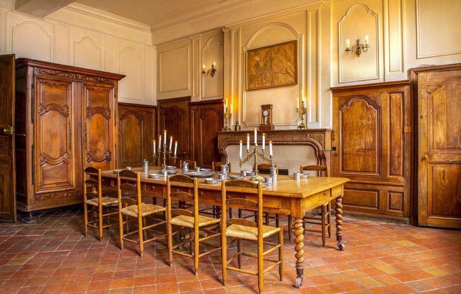 Cuisine de l'Hôtel Dieu à Seurre