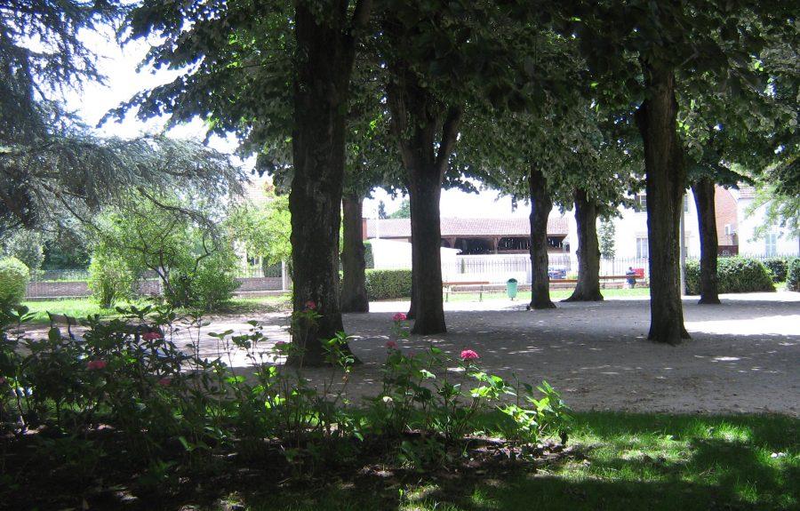 Jardin anglais à Seurre