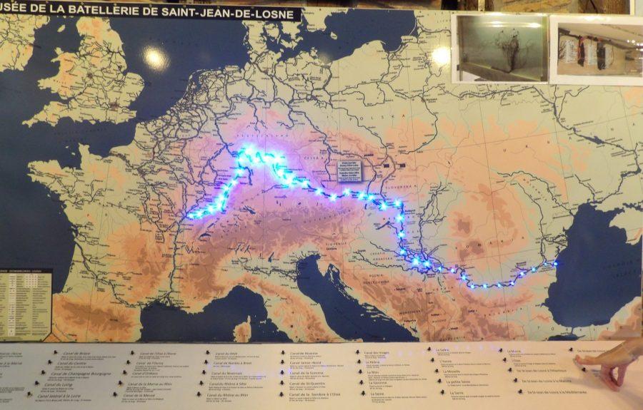 Misée de la batellerie, 3 salles d'exposition à Saint-Jean-de-Losne