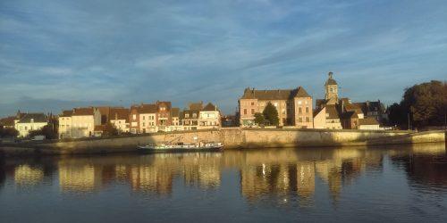 Seurre, côté Saône