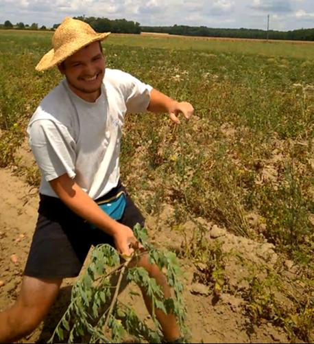 Rencontrez Thibault, un agriculteur bio engagé à Charrey-sur-Saône