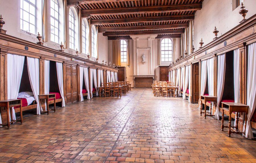 Salle des malades de l'Hôtel Dieu à Seurre