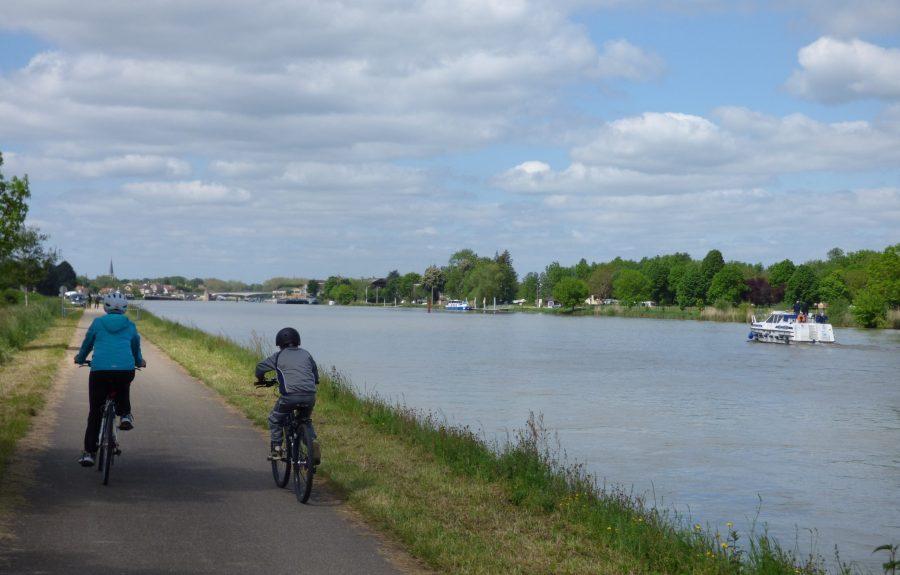 Voie bleue Moselle Saône® à vélo