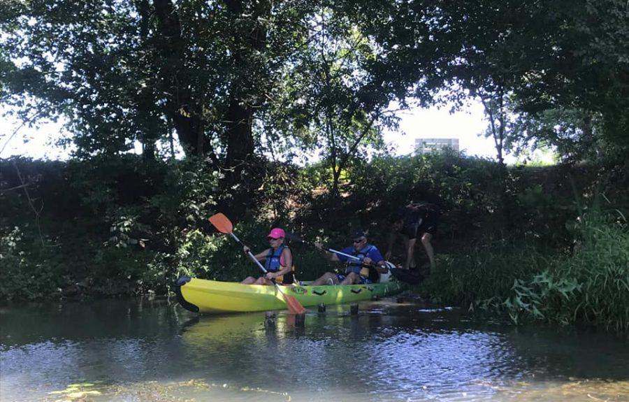 EcoPagayeurs à Saint-Jean-de-Losne