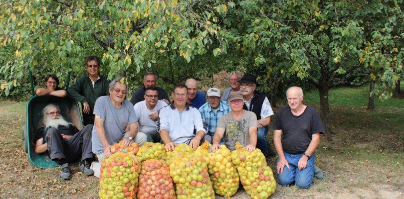 Les croqueurs de pommes sont présents à l'Artisanerie de la Saône