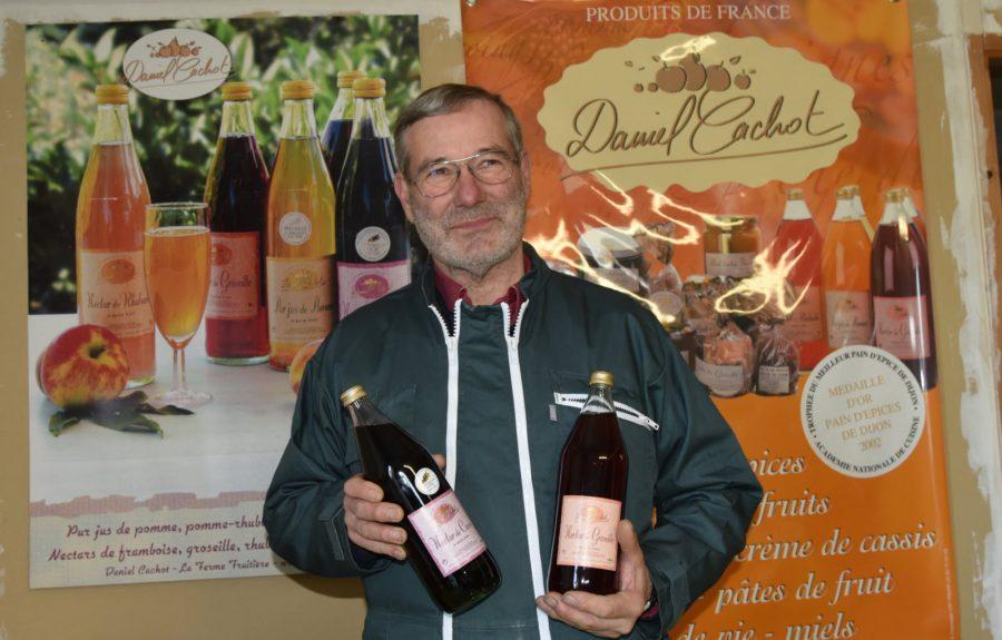 Daniel Cachot, producteur fruitiers à Broin