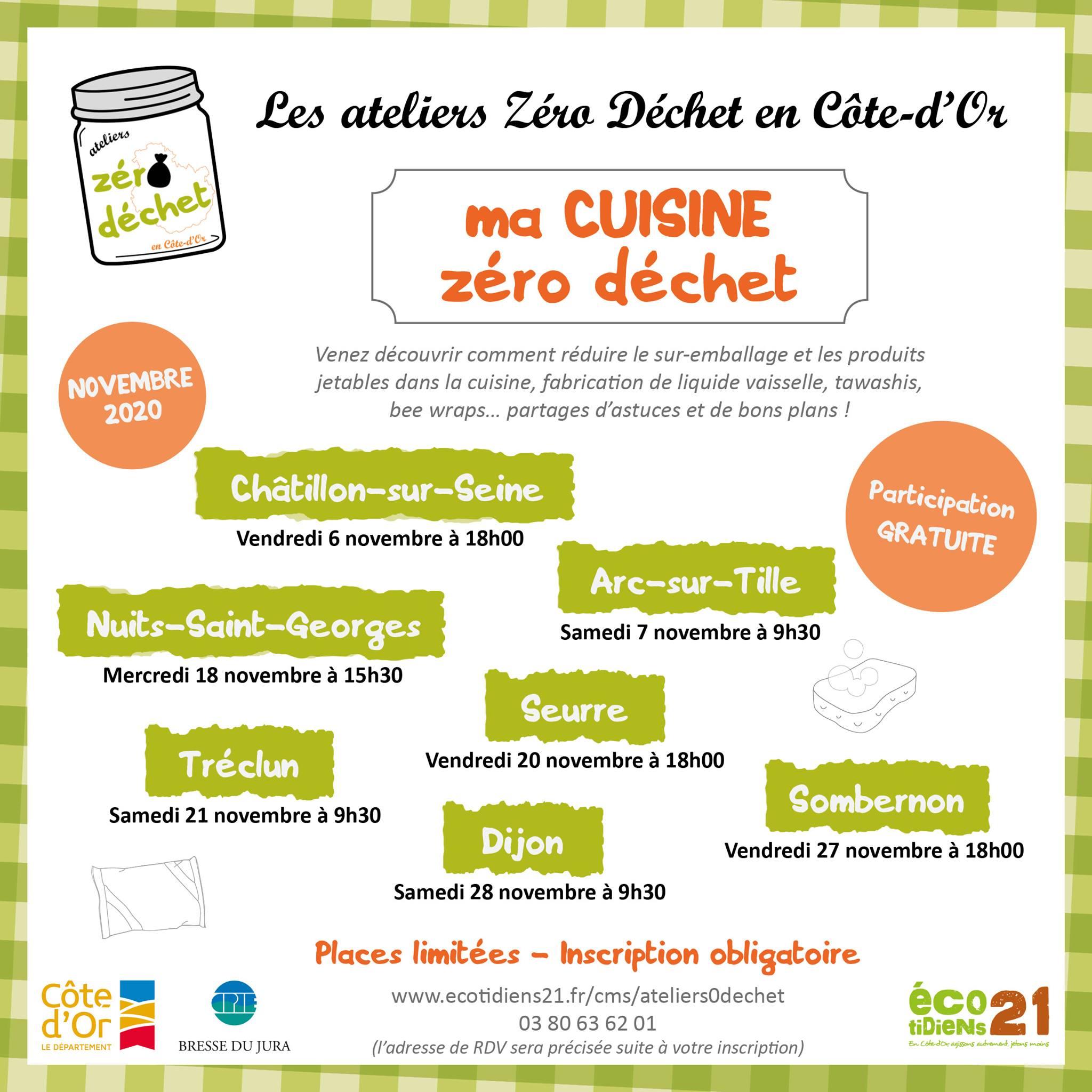 atelier cuisine- 20 -Seurre -