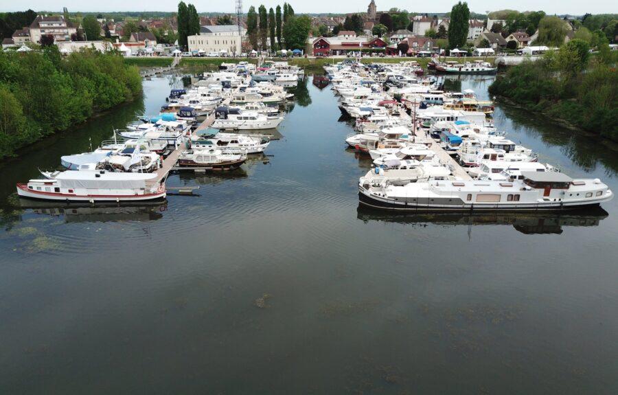 Port de plaisance, H2O à Saint-Jean-de-Losne