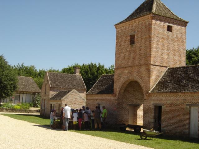 Visite du musée de plein air l'Etang Rouge à Seurre